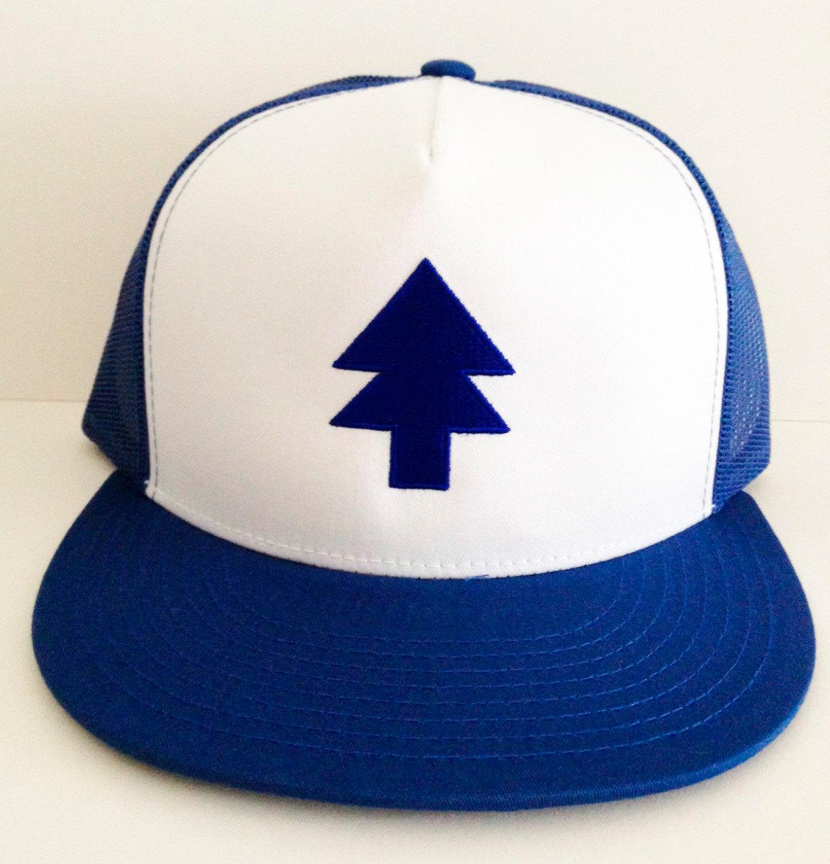 Dipper Pine Hat Dipper Pine Tracker Hat Pine Tree hat Gravity.