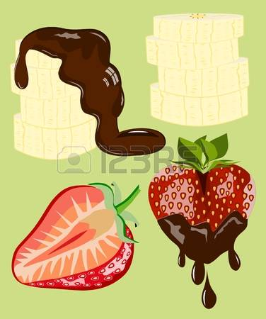 189 Chocolate Dipped Stock Illustrations, Cliparts And Royalty.