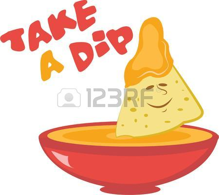 Chips And Dip Clipart.