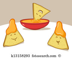 Chips dip Clipart Vector Graphics. 53 chips dip EPS clip art.