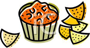 Clip Art Dips and Spreads.