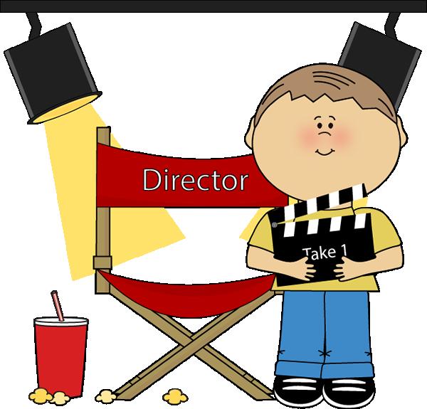 Film Director Clipart.