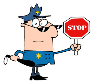 Traffic Control Clipart Image.