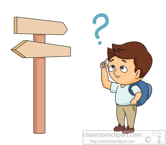 confused boy clipart answer clipground