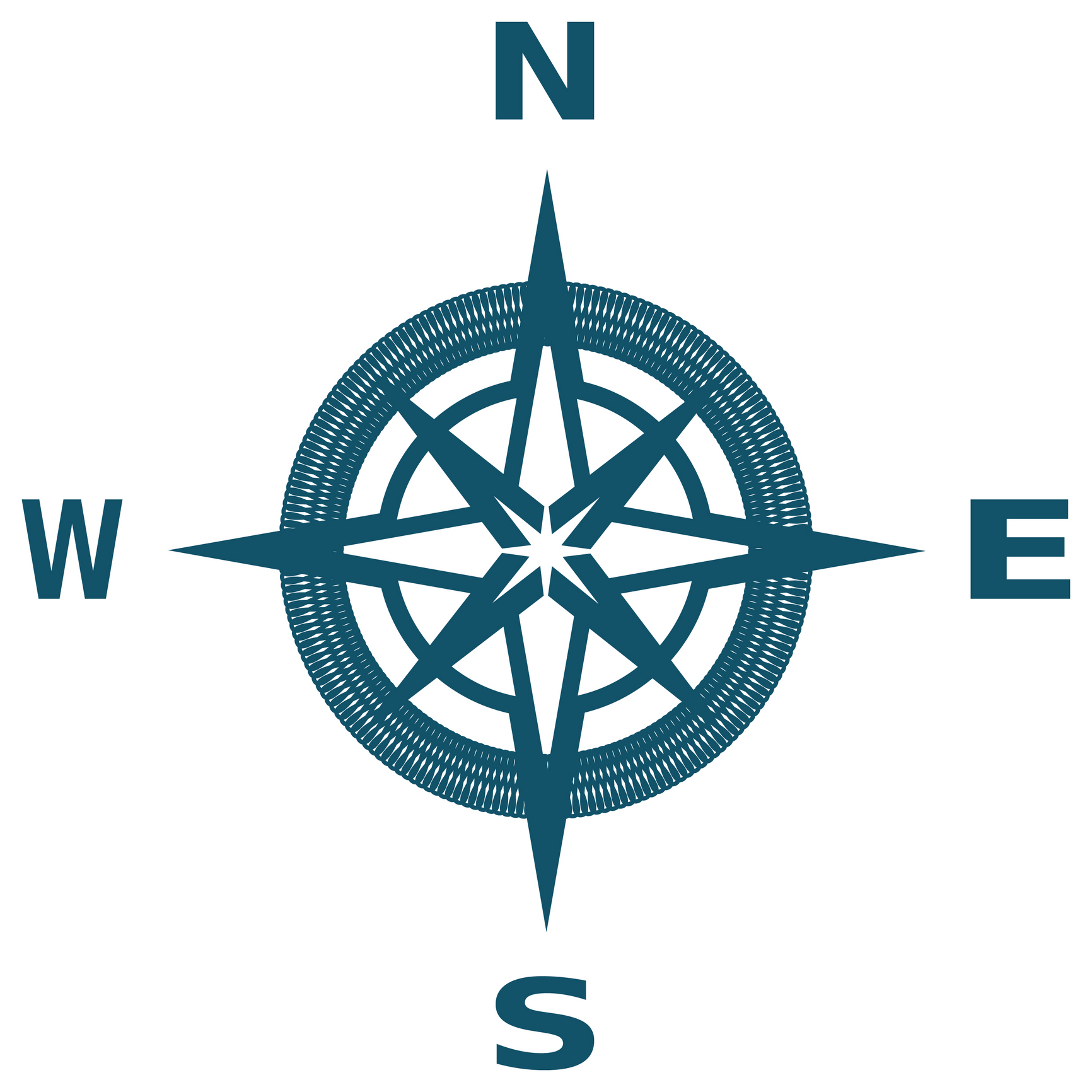 Clipart compass north.