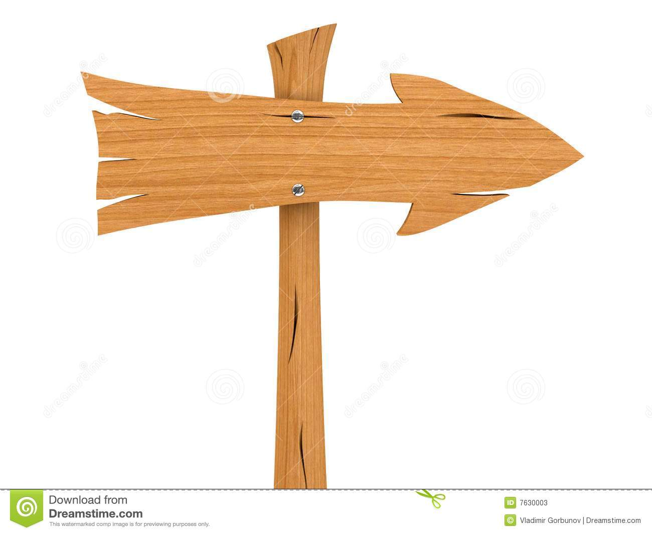 Direction board clipart.