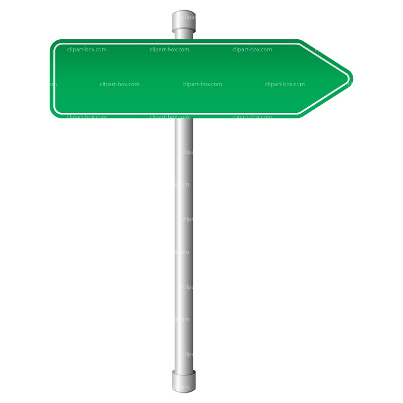 Direction Signs Clipart.