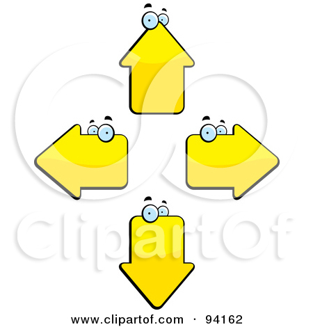 Directional Clipart.