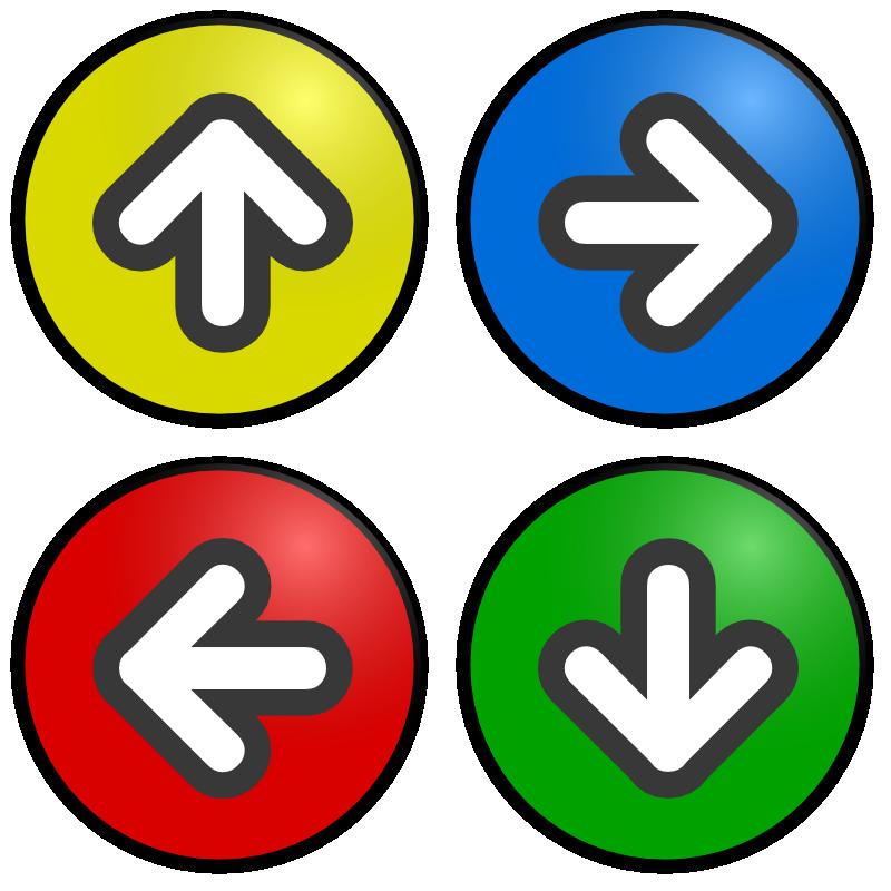 Arrows Signs.
