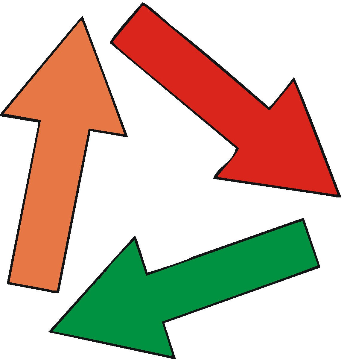 Directional arrows direction arrows clip art 3.