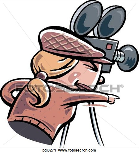 Clipart director.