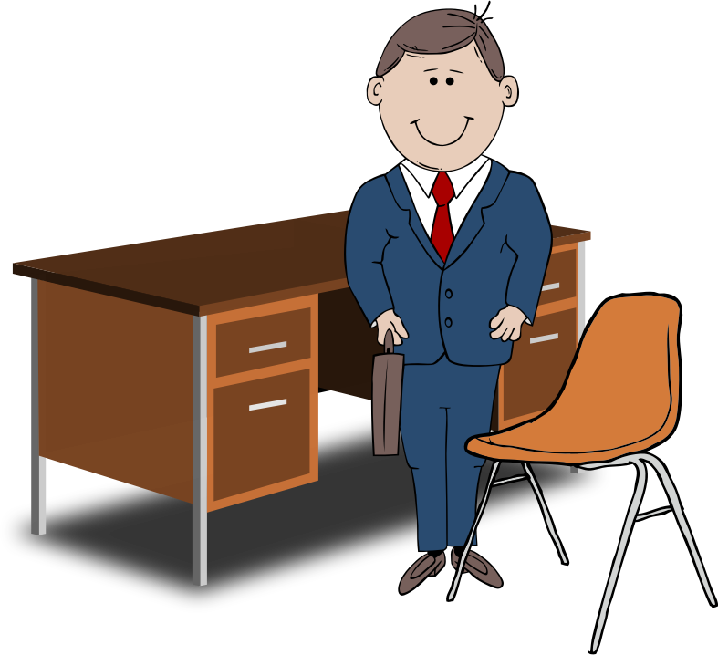 Director desk clipart - Clipground | 787 x 718 png 98kB