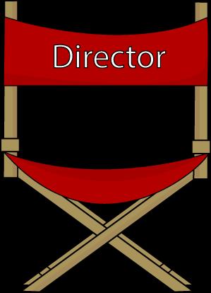 Directors chair clipart.