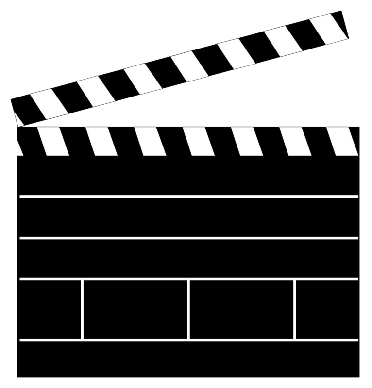 Clapboard Cliparts.