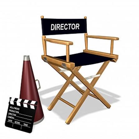 Directors Chair Clipart.