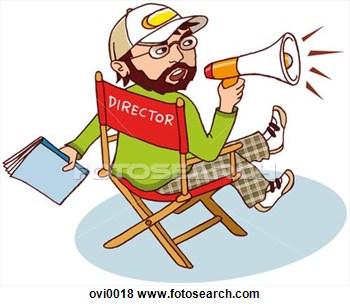 Directors Clip Art Free.