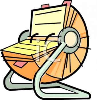 Address And Telephone Directory Clipart.
