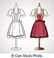 Dirndl Illustrations and Clip Art. 587 Dirndl royalty free.
