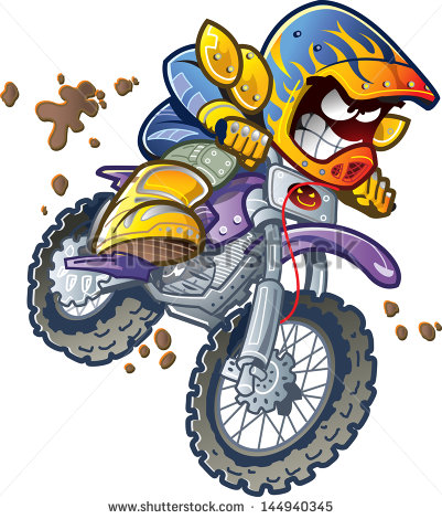 Dirt Bike Helmet Clipart.