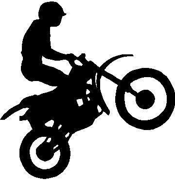 Clipart dirt bike.
