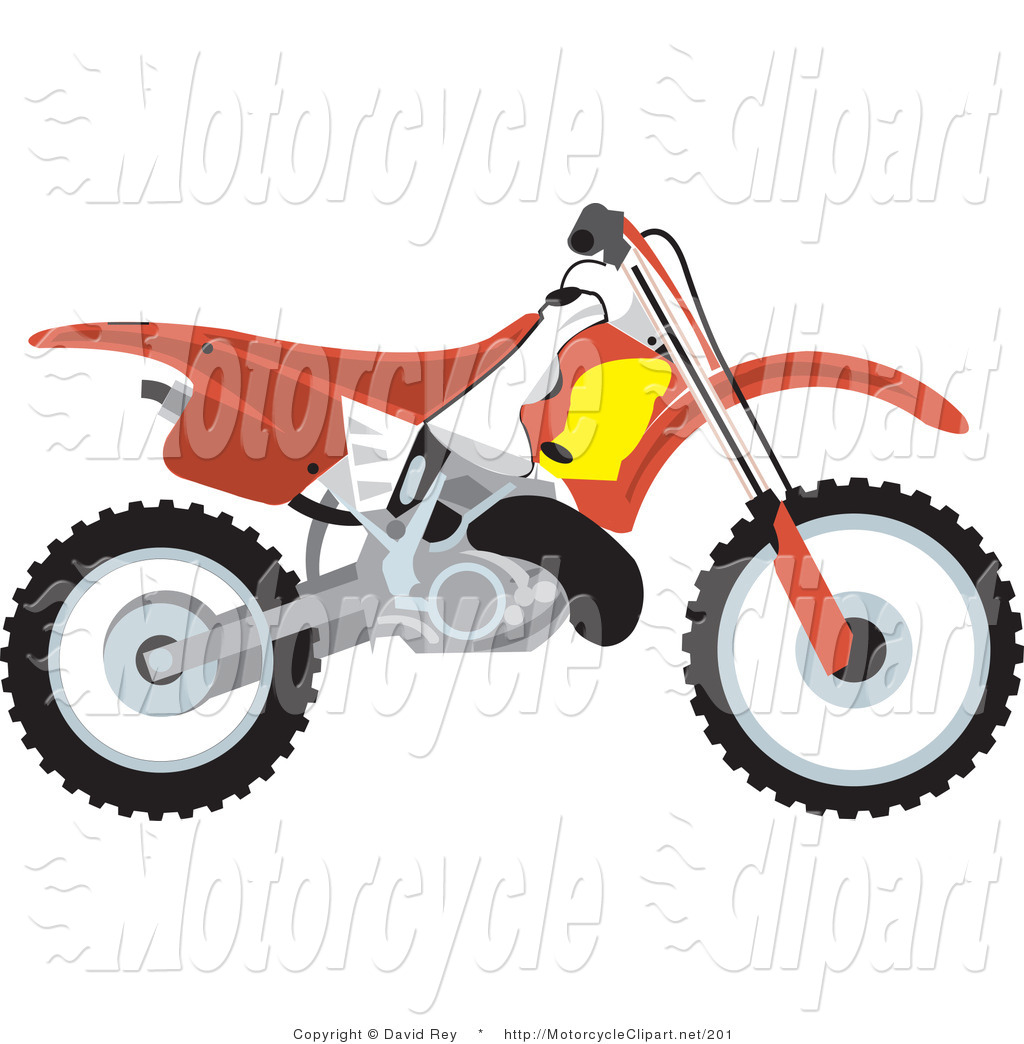 Dirt bike girl clipart.