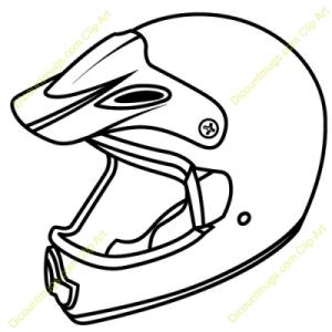 How To Draw A Dirt Bike Helmet.