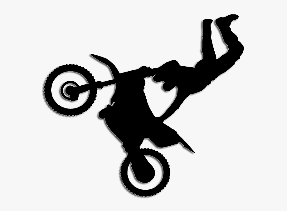 Motorcycle Bicycle Wheels Motocross Clip Art.