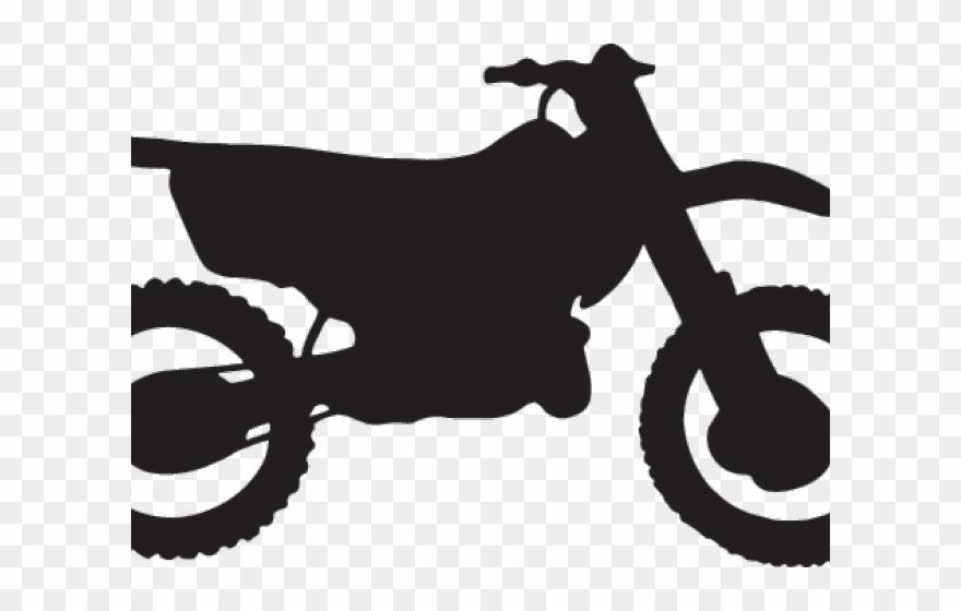 Easy Silhouette Dirt Bike Clipart (#173194).