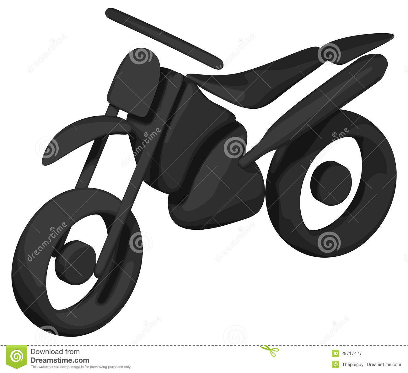 Dirt Bike (Shaded.
