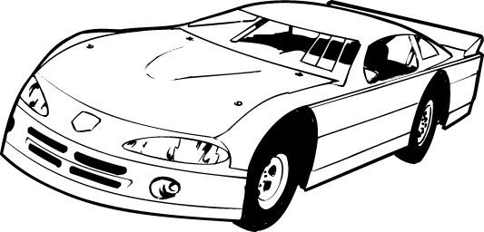 Dirt track race car clipart 3 » Clipart Station.