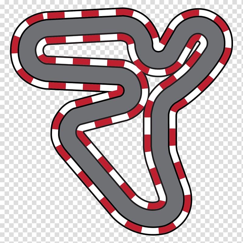 Race track Auto racing Kart racing , racing transparent.