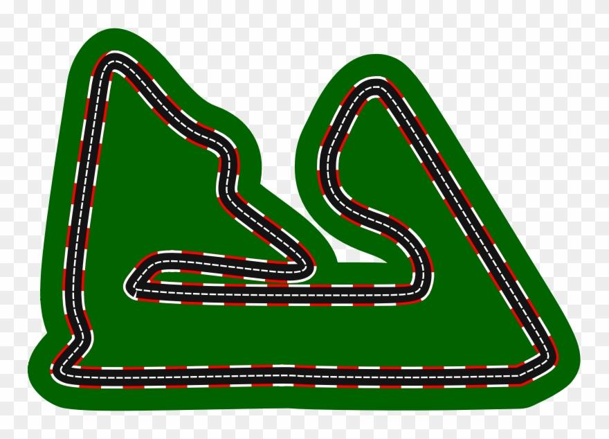 Racetrack Clipart Race Track Auto Racing Clip Art.