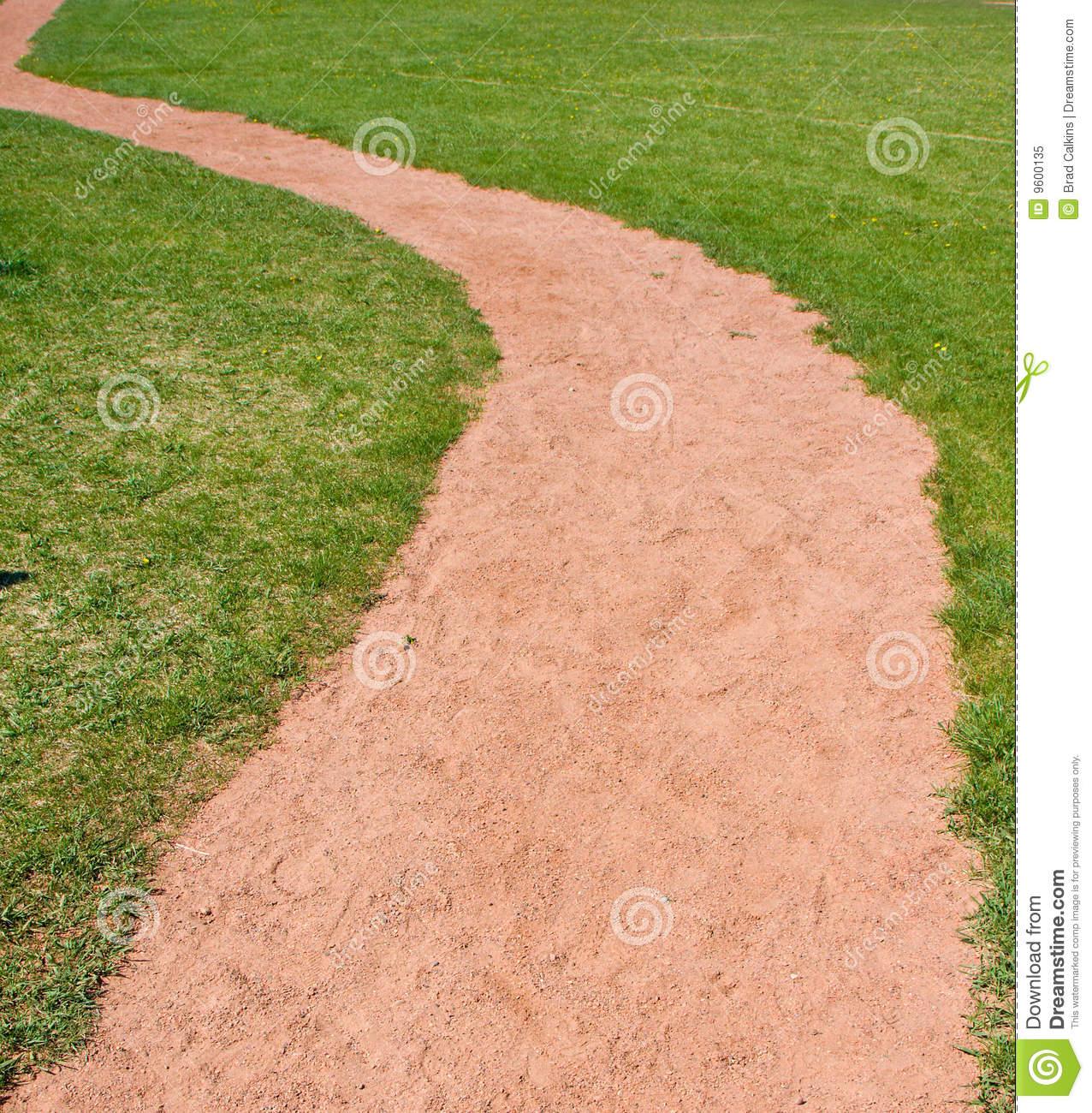 Dirt path clipart.