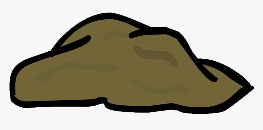 Clip Art Cartoon Dirt Mound Clipart.
