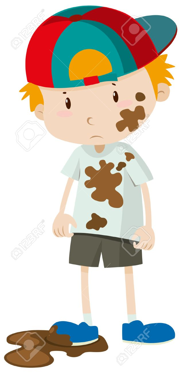 Dirty boy clipart 2 » Clipart Station.