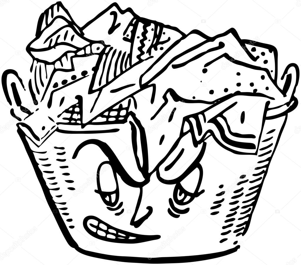 Dirty clothes clipart black and white 5 » Clipart Station.