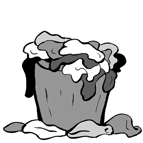 7481 Clothes free clipart.