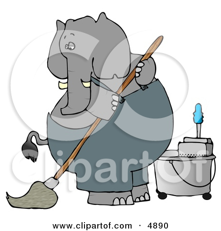 Animal Caretaker Clipart.