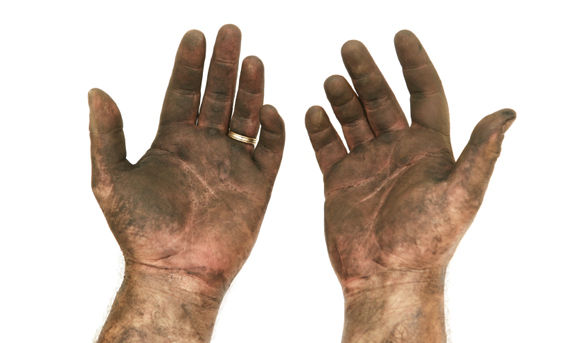 Clipart dirty hands.