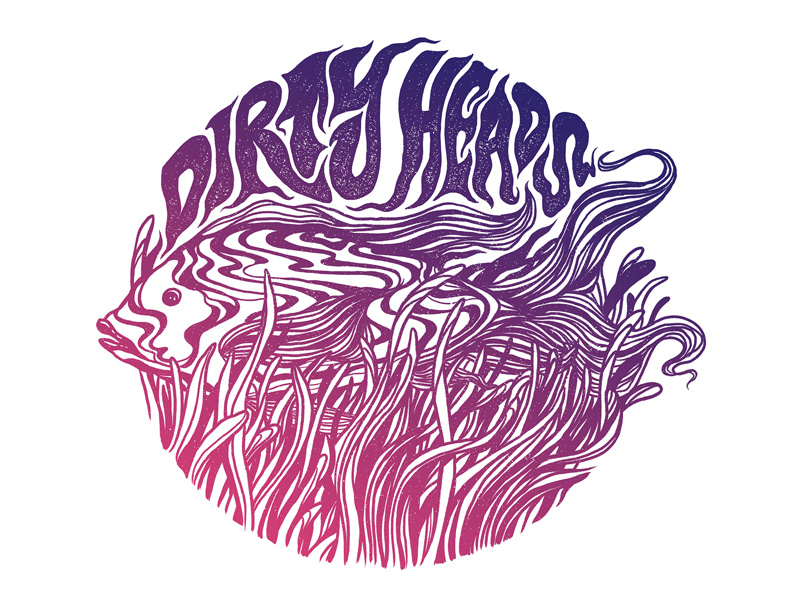 Dirty Heads Shirt Design by Dylan Fant on Dribbble.