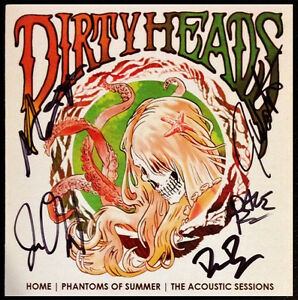 Details about THE DIRTY HEADS Home: Phantoms Of Summer Signed By All 5 Ltd  Ed RARE CD Booklet.