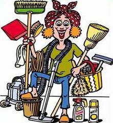 Free Messy House Clipart.