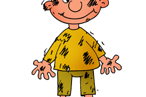Dirty child clipart 13 » Clipart Station.
