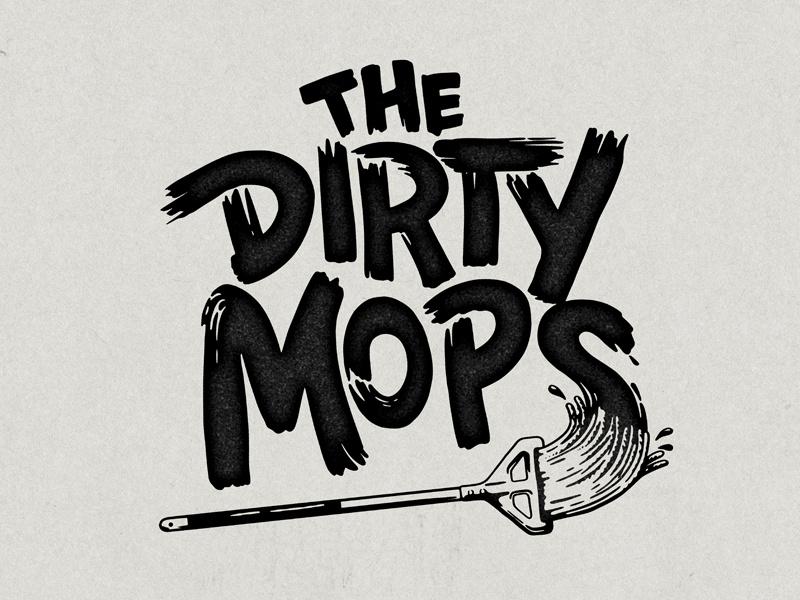 Dirty Mops Logo by Matthew Fleming on Dribbble.