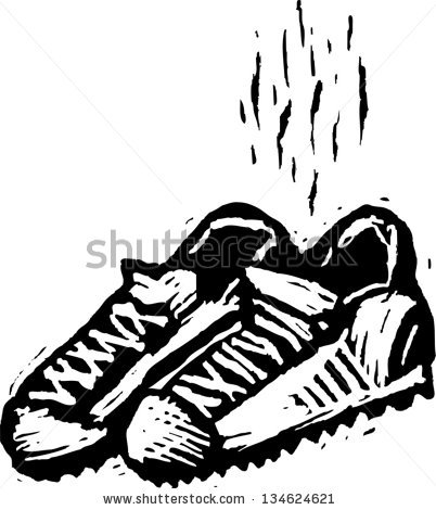 8647 Shoes free clipart.