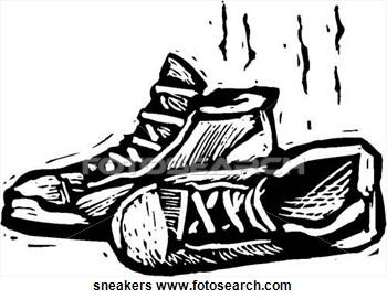 Dirty Shoe Clipart.