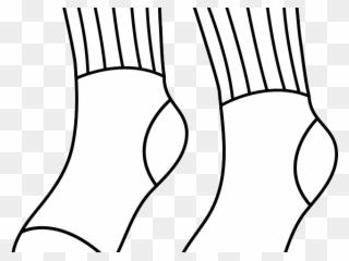Pair Clipart Dirty Sock.