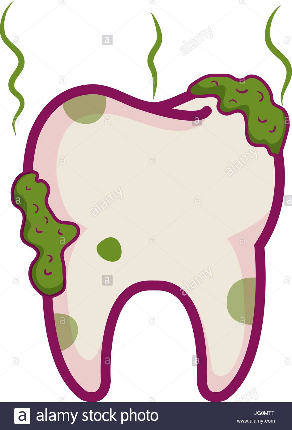 tooth dirty isolated icon Stock Vector Art & Illustration, Vector.