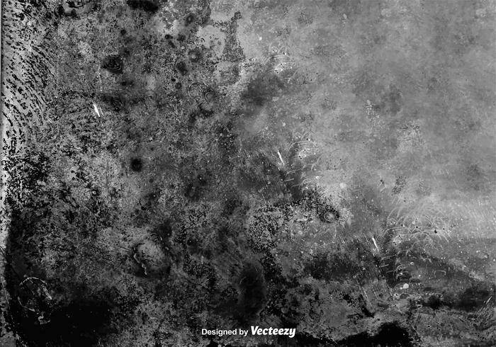 Vector Dirty Grunge Gray Wall Texture.