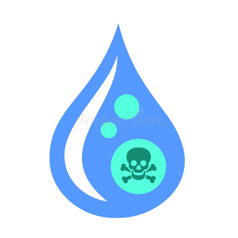 Contaminated Water Stock Illustrations.